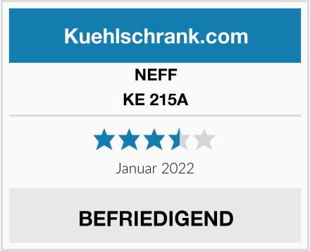 NEFF KE 215A Test