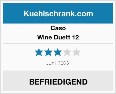 Caso Wine Duett 12 Test