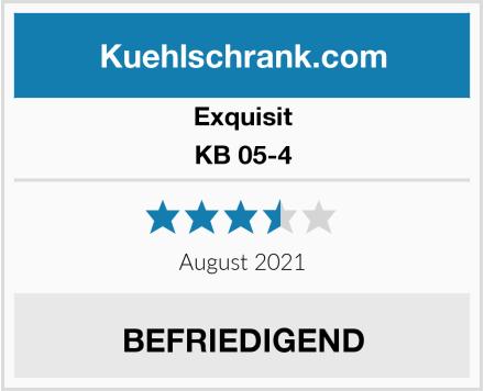 Exquisit KB 05-4 Test