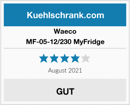 Waeco MF-05-12/230 MyFridge Test