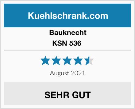 Bauknecht KSN 536  Test