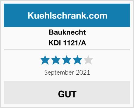 Bauknecht KDI 1121/A Test