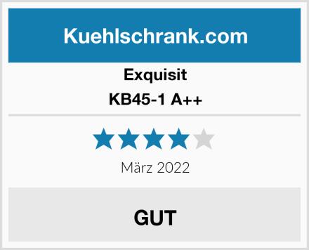 Exquisit KB45-1 A++ Test