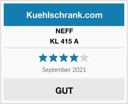 NEFF KL 415 A Test
