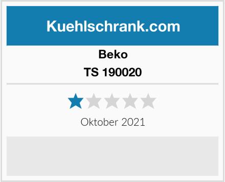Beko TS 190020 Test