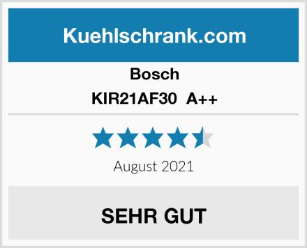 Bosch KIR21AF30  A++ Test