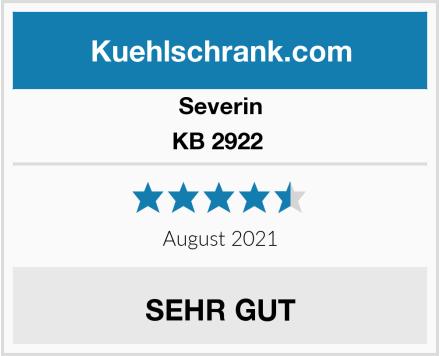 Severin KB 2922  Test