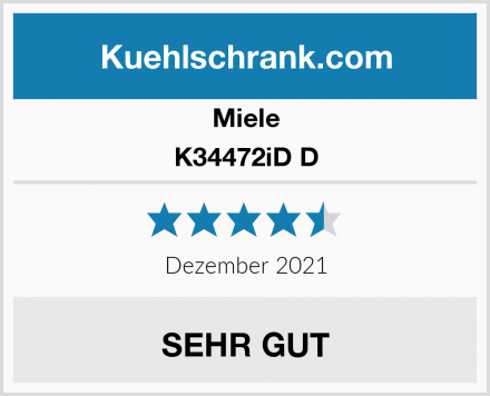 Miele K34472iD D Test