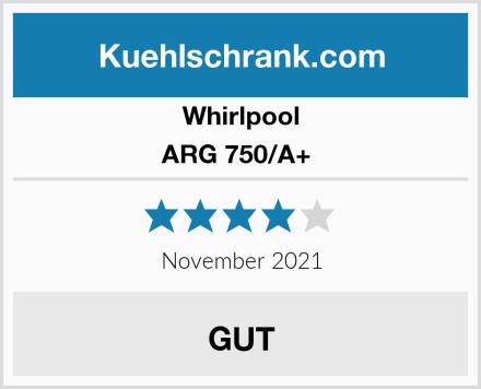 Whirlpool ARG 750/A+  Test