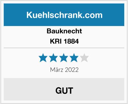 Bauknecht KRI 1884 Test