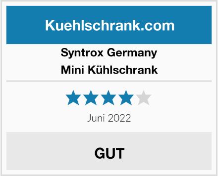 Syntrox Germany Mini Kühlschrank Test