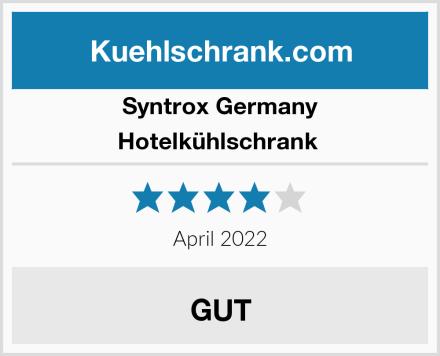Syntrox Germany Hotelkühlschrank  Test