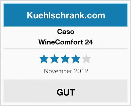 Caso WineComfort 24 Test