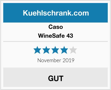 Caso WineSafe 43 Test