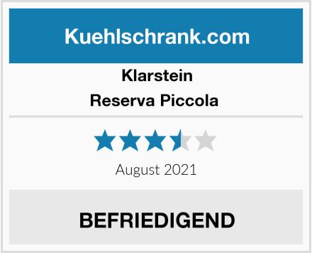 Klarstein Reserva Piccola  Test