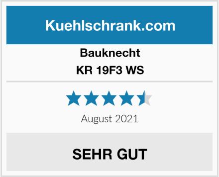 Bauknecht KR 19F3 WS Test