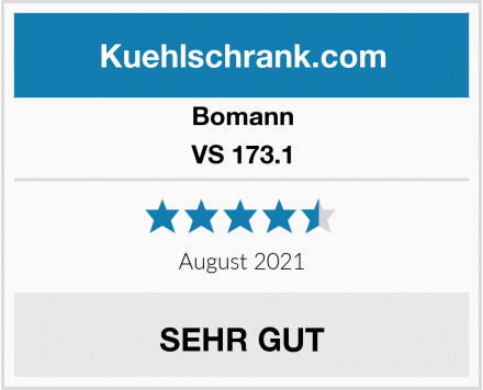 Bomann VS 173.1 Test