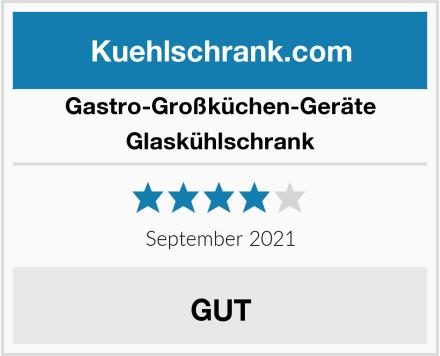 Gastro-Großküchen-Geräte Glaskühlschrank Test