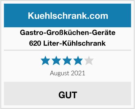 Gastro-Großküchen-Geräte 620 Liter-Kühlschrank Test