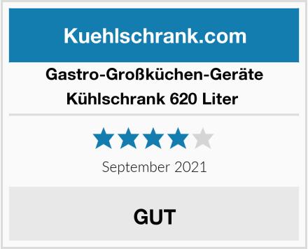 Gastro-Großküchen-Geräte Kühlschrank 620 Liter  Test