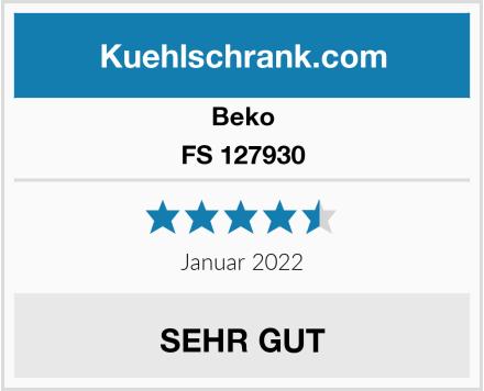 Beko FS 127930 Test