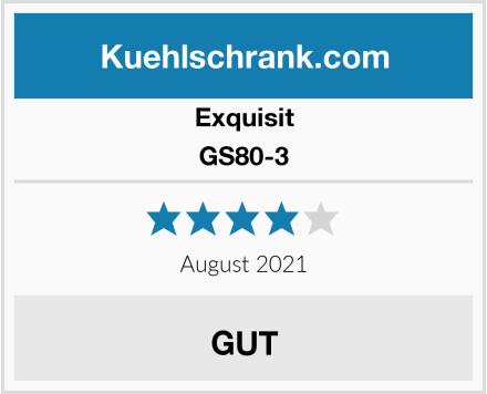 Exquisit GS80-3 Test