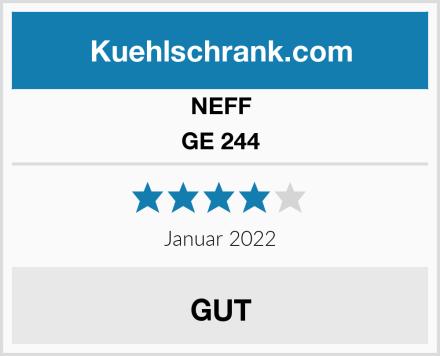NEFF GE 244 Test