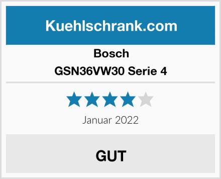 Bosch GSN36VW30 Serie 4 Test