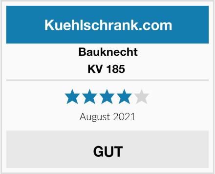 Bauknecht KV 185  Test