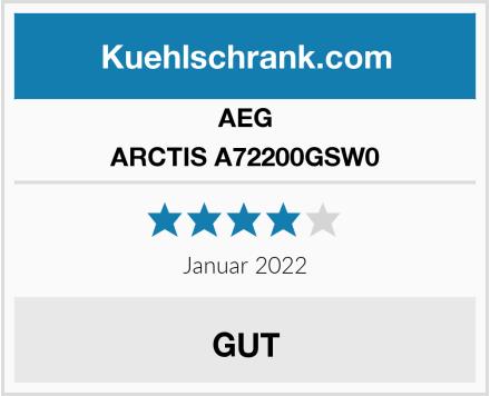 AEG ARCTIS A72200GSW0 Test