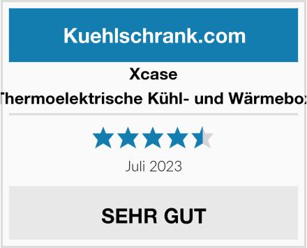 Xcase Thermoelektrische Kühl- und Wärmebox Test