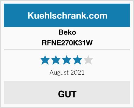 Beko RFNE270K31W Test