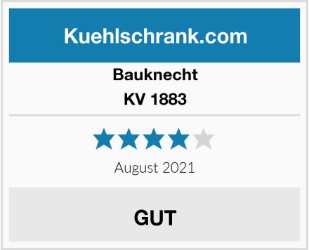 Bauknecht KV 1883 Test