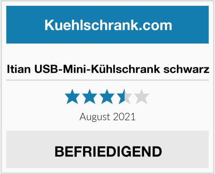 Itian USB-Mini-Kühlschrank schwarz Test