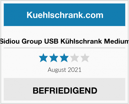 No Name Sidiou Group USB Kühlschrank Medium Test