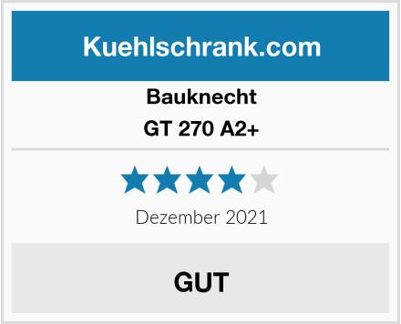 Bauknecht GT 270 A2+ Test