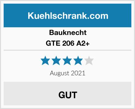 Bauknecht GTE 206 A2+ Test