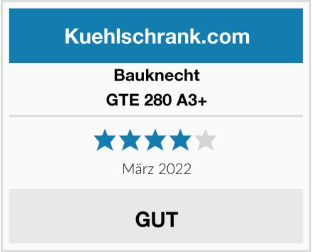 Bauknecht GTE 280 A3+ Test