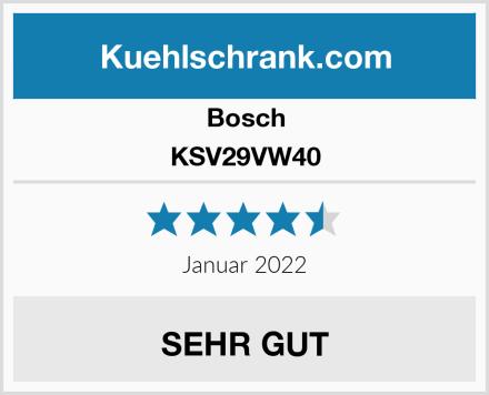 Bosch KSV29VW40 Test
