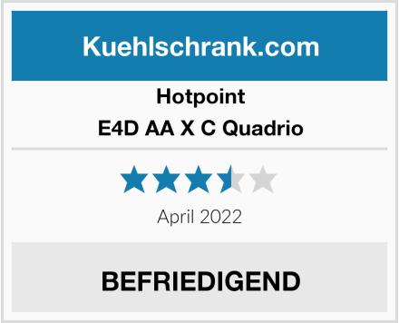 Hotpoint E4D AA X C Quadrio Test