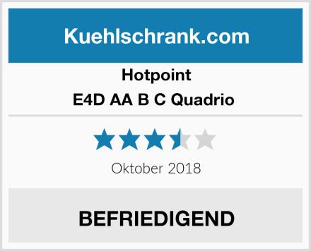 Hotpoint E4D AA B C Quadrio  Test