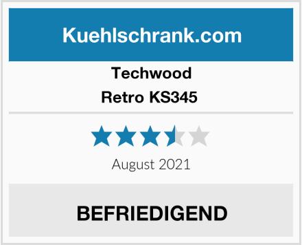 Techwood Retro KS345  Test