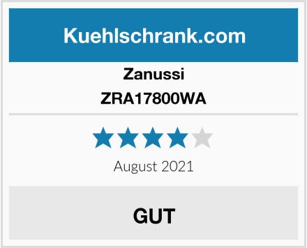 Zanussi ZRA17800WA Test