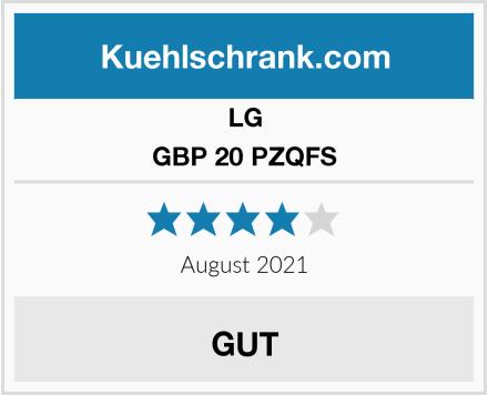 LG GBP 20 PZQFS Test