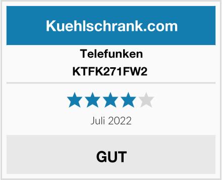 Telefunken KTFK271FW2  Test