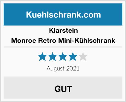 Klarstein Monroe Retro Mini-Kühlschrank Test
