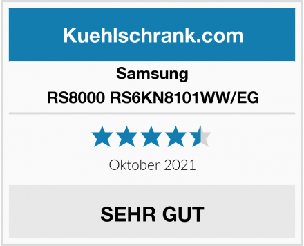 Samsung RS8000 RS6KN8101WW/EG Test
