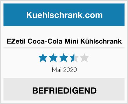 EZetil Coca-Cola Mini Kühlschrank Test