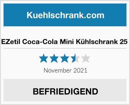 EZetil Coca-Cola Mini Kühlschrank 25  Test