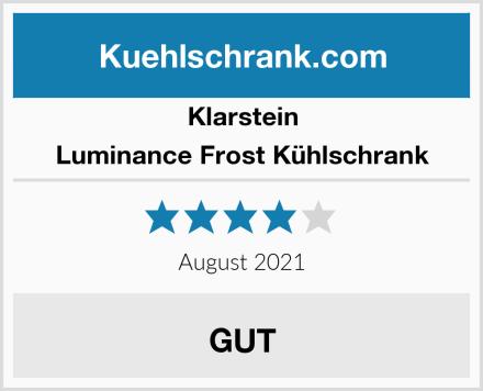 Klarstein Luminance Frost Kühlschrank Test